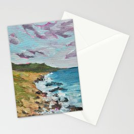 California, Big Sur Painting Stationery Cards
