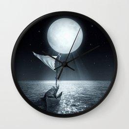 Set Adrift II Wall Clock