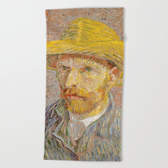 0718df76ede Vincent van Gogh - Self-Portrait with a Straw Hat - The Potato Peeler Beach