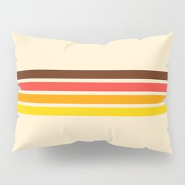 African Retro Stripes Pillow Sham