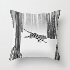 Martwood Tiger Throw Pillow