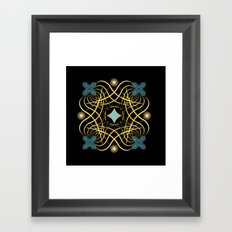 Circle Study No. 450 Framed Art Print