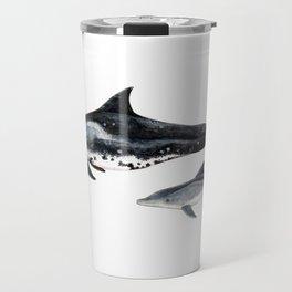 Rough-toothed dolphin (Steno bredanensis) Travel Mug