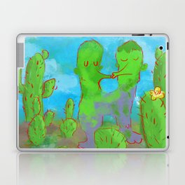 Kissing Cactus Laptop & iPad Skin