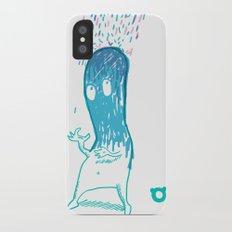 002_rain iPhone X Slim Case