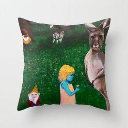 Ephemeral Innocence Woodland Nature Art Throw Pillow