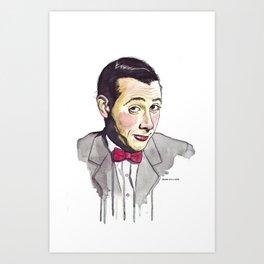 Pee Wee Art Print
