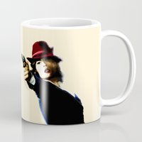 agent carter Mugs featuring Agent Carter by Ms. Givens