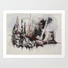 freefalling Art Print