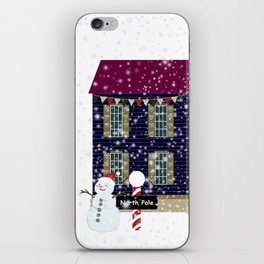 Home For The Holidays iPhone Skin