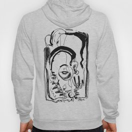 Downfall - b&w Hoody