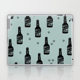 There's always hope beer bottle hop love ocean green Laptop & iPad Skin