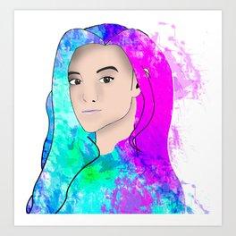 Marzia (Cutiepie) Art Print