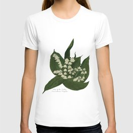 Lily of the Valley: Convalleria Majalis T-shirt