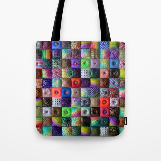 Patchwork of Joy Tote Bag