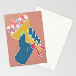 Show Her U Care Stationery Cards