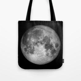 Moon Full Tote Bag