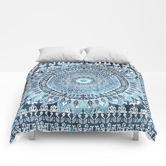 MANDALIKA INDIGO Comforters
