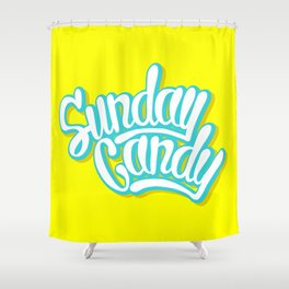 Sunday Candy Shower Curtain