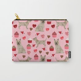 Cairn Terrier dog breed valentines day love pet dog person valentine by pet friendly Carry-All Pouch