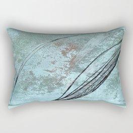 Bows on Verdaccio Rectangular Pillow