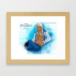 Elsa male ver. Framed Art Print