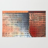soldier Area & Throw Rugs featuring Lead Soldier by Fernando Vieira
