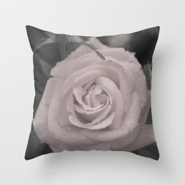 Raining Roses Throw Pillow