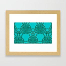 pattern azbuki 2 Framed Art Print