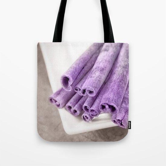 PURPLE CINNAMON Tote Bag
