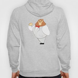 Lion in Suit with Bow tie Hoody