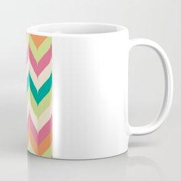 Curvey Herringbone Chevrons Coffee Mug