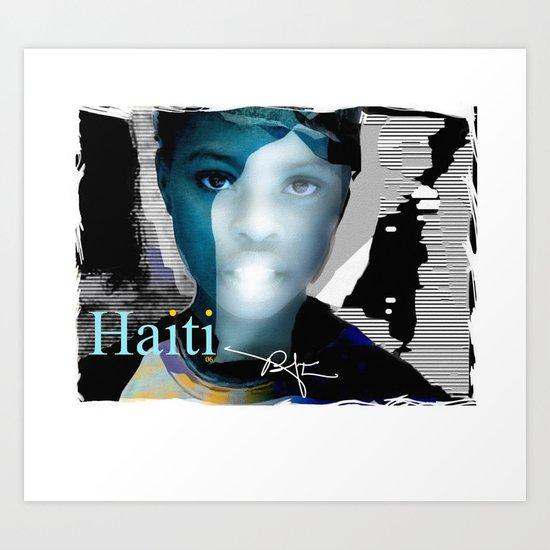 Haiti Portraits / 06 / Series / 6 Art Print