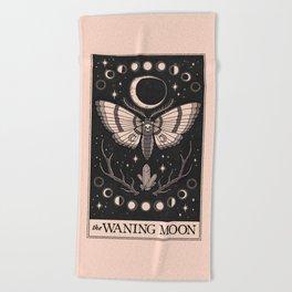 The Waning Moon Beach Towel