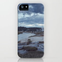 Hot Springs, Yellowstone iPhone Case