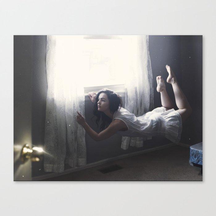GLITTERED DREAMS Canvas Print