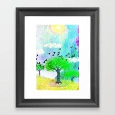 ONE SUNNY DAY - 049 Framed Art Print