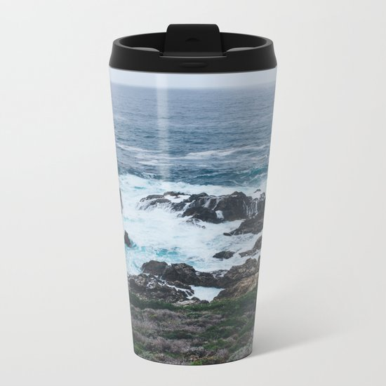 Northern California Coast Photography Metal Travel Mug