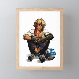 Blitzball best player Framed Mini Art Print