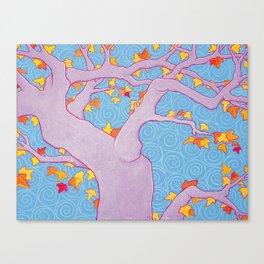 Autumn Spirals Canvas Print
