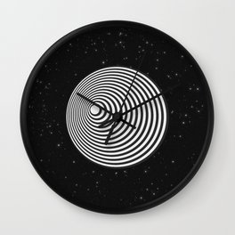 Twilight Zone Tunnel Wall Clock