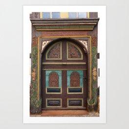 Door From Olden Times Art Print