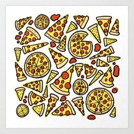Pizza Time! Art Print
