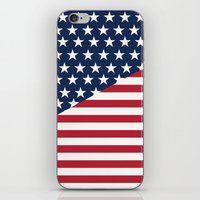 flag iPhone & iPod Skins featuring Flag by dani