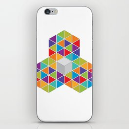 Abstract Triangle 1 iPhone Skin