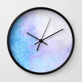 Periwinkle Mood Wall Clock