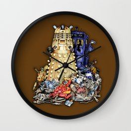 The Best Robot in the universe iPhone 4 4s 5 5c 6, pillow case and tshirt Wall Clock