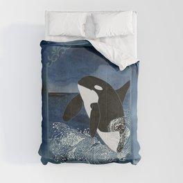 Killer Whale Orca Comforters