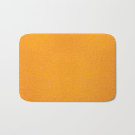 Yellow orange material texture abstract Bath Mat