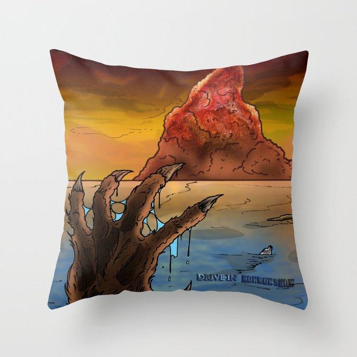 Metal Print - Plastic Island Throw Pillow